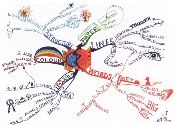 The De Vinci code – Mind Mapping to pass exams « Pedleysmiths's Blog