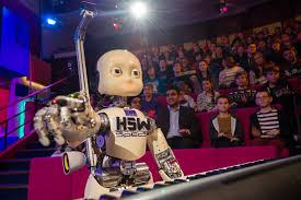 Robot lecturer