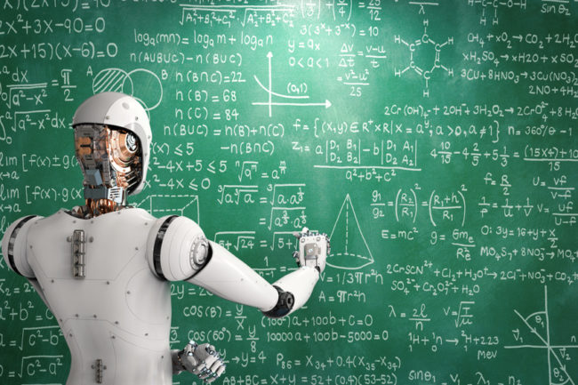 robot learning or solving problems
